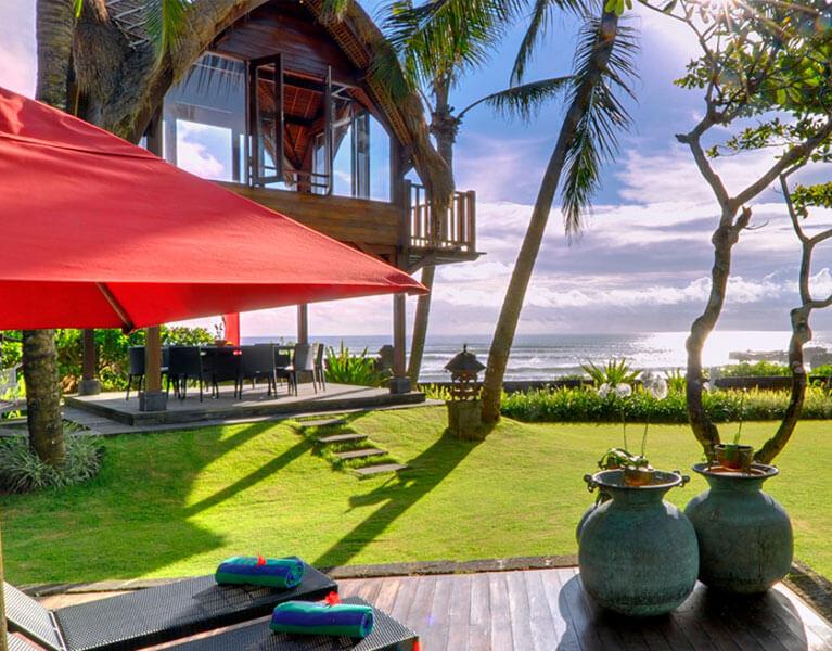Links Villa Maridadi Cemagi Beach 5 Bedroom Beachfront Villa Bali